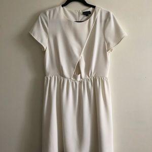 TOPSHOP Short Sleeve Cutout Dress